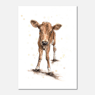 Calf Limited Edition Print