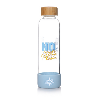 IFLScience! No Single Use Plastic Glass Water Bottle