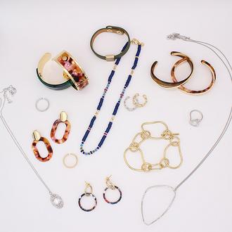 NEW JEWELLERY - Carrie Cuff / Carrie Bangle / Carrie Drop Earring / Ellen Bracelet / Tahiti Bracelet