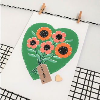 Greetings Card - For You