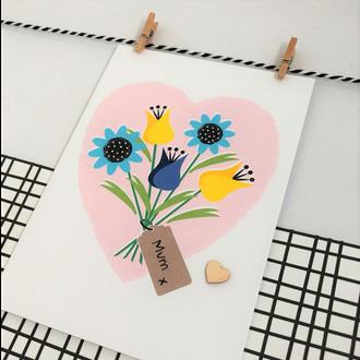 Greetings Card - MUM