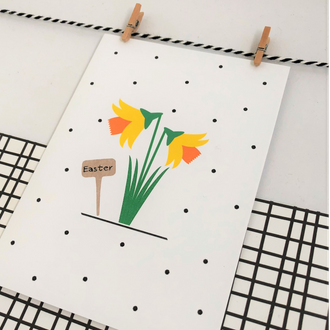 Greetings Card - Easter