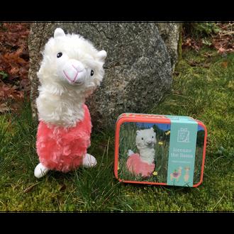 Gift in a Tin - Lorenzo the Llama