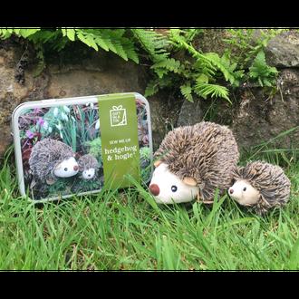 Gift in a Tin - Sew me Up Hedgehog & Hoglet