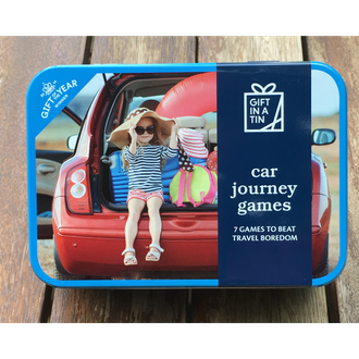 Gift in a Tin - Car Journey Games