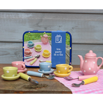 Gift in a Tin - Tea Party in a Tin