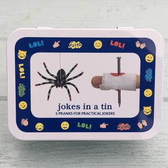 Gift in a Tin - Jokes in a Tin