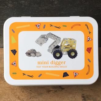 Gift in a Tin - Mini Digger
