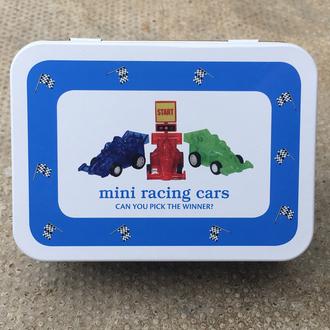 Gift in a Tin - Mini Racing Cars