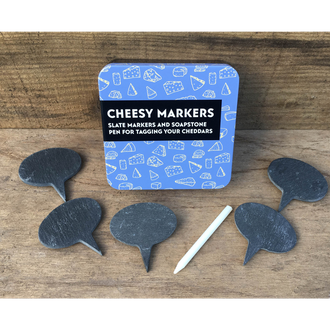 Gifts For Grown Ups - Cheesy Markers