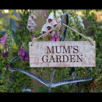 Heritage - Mum's Garden Sign