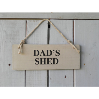 Heritage - Dad's Shed Sign