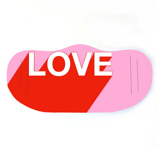 THE WORD IS LOVE MASK BY ADAM REGESTER