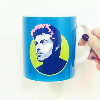 George Michael Mug by Sabi Koz