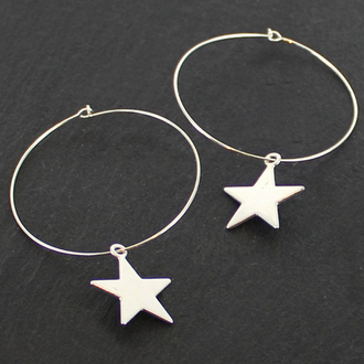 Silver Plated Stars Collection