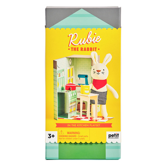Petit Collage Ruby The Rabbit Playset