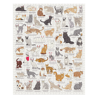 Ridley's Games Jigsaw Cat Lovers Puzzle 1000pcs