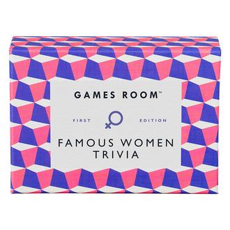 Games Room Famous Women Trivia