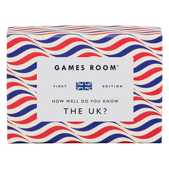 Games Room How Well Do You Know The UK Trivia