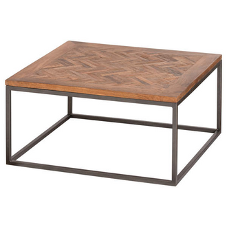 Hoxton Collection Coffee Table With Parquet Top