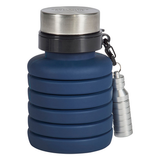 Gentlemen's Hardware Commuter Water Bottle and Flashlight