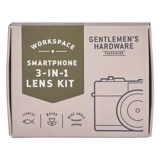 Gentlemen's Hardware Smart Phone 3 in 1 Lens Kit