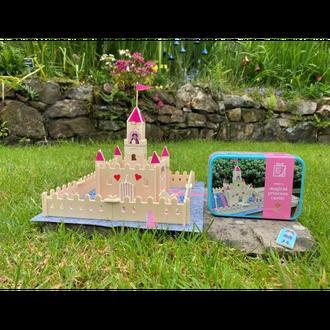 Gift in a Tin - Make a Magical Princess Castle