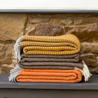 Pure New Wool Throws
