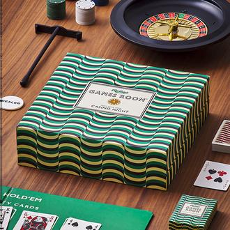 Games Room Casino Night