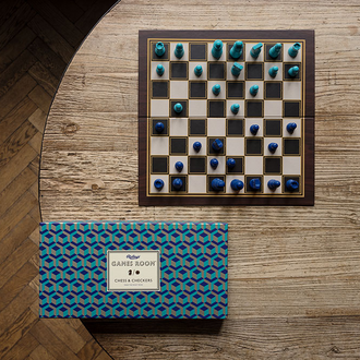 Games Room Chess and Checkers