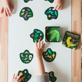 Petit Collage Dinosaur Jumble