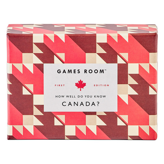Games Room Who Well Do You Know Canada