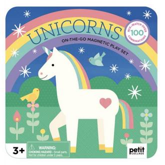 Petit Collage Magnetic Playset Unicorns
