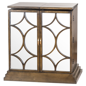 The Vinus Collection Mirrored Folding Bar