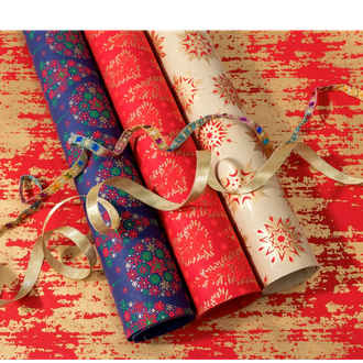 Eco friendly Christmas Handmade Wrapping Paper