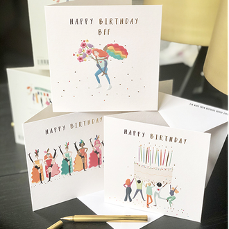 Happy Days - Brand New Greeting Card Collection