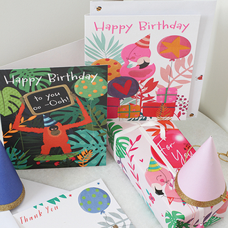 Wildlings - Children's Greeting Card Collection