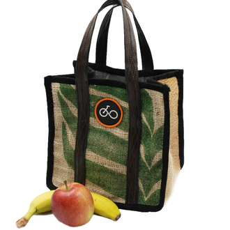 Recycled Coffee Sack Lunch Bag