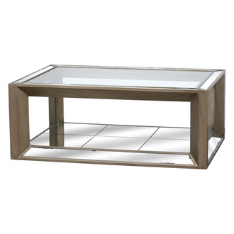 Large Augustus Mirrored Coffee Table