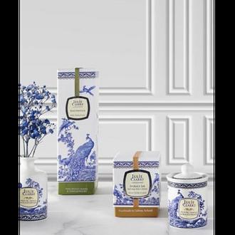 Blue Peacock Storage Jar Fragrances Candle