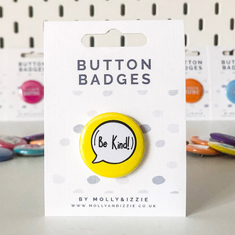 Button Badges - Pin Badges