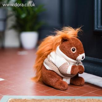 Kimberley Red Squirrel Doorstop