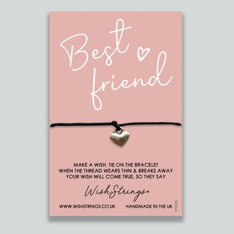 028WS - WishStrings Wish Bracelets - Best Friend