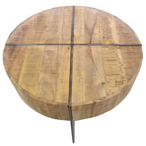 Old Empire Round Coffee Table