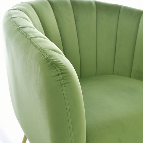 Cromarty Army Green Tub Chair