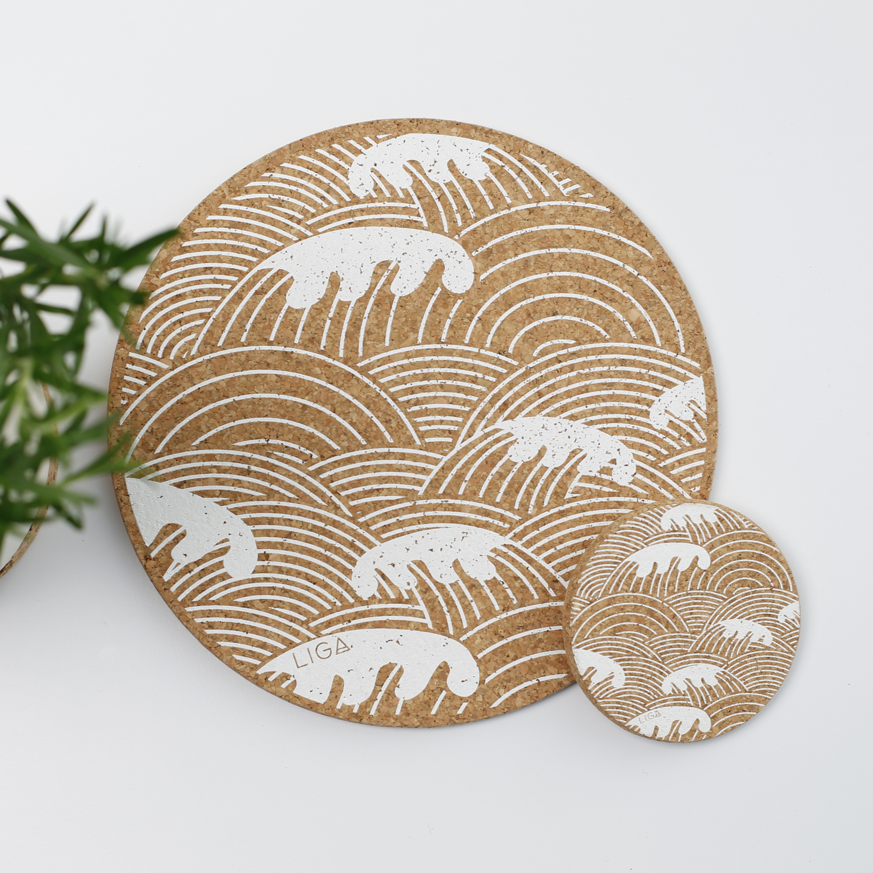 Cork Collection  | Coastal Placemats & Coasters