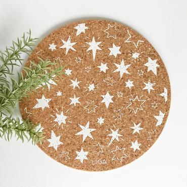 Cork Collection   Winter Placemats & Coasters