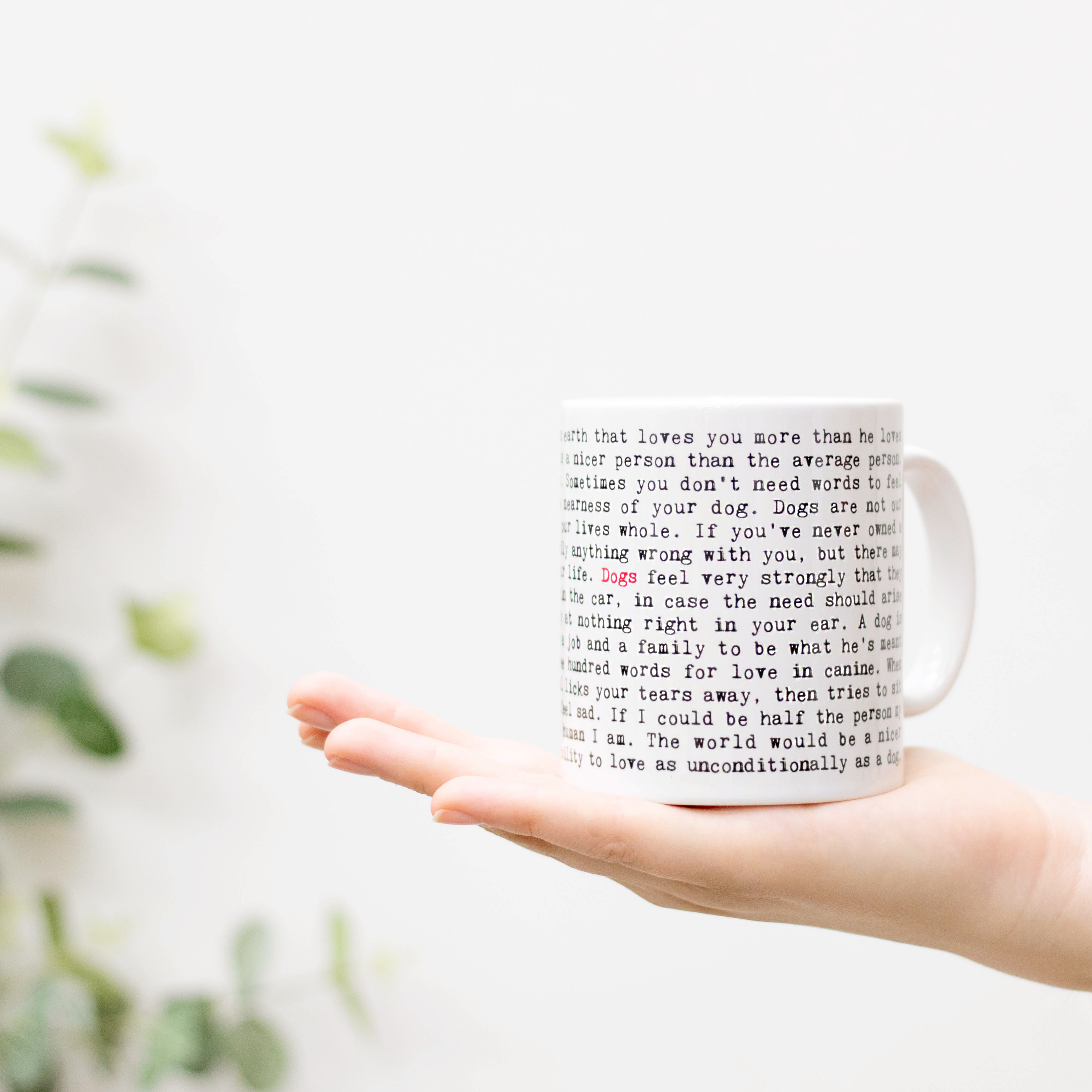 120+ 'Wise Words' mugs