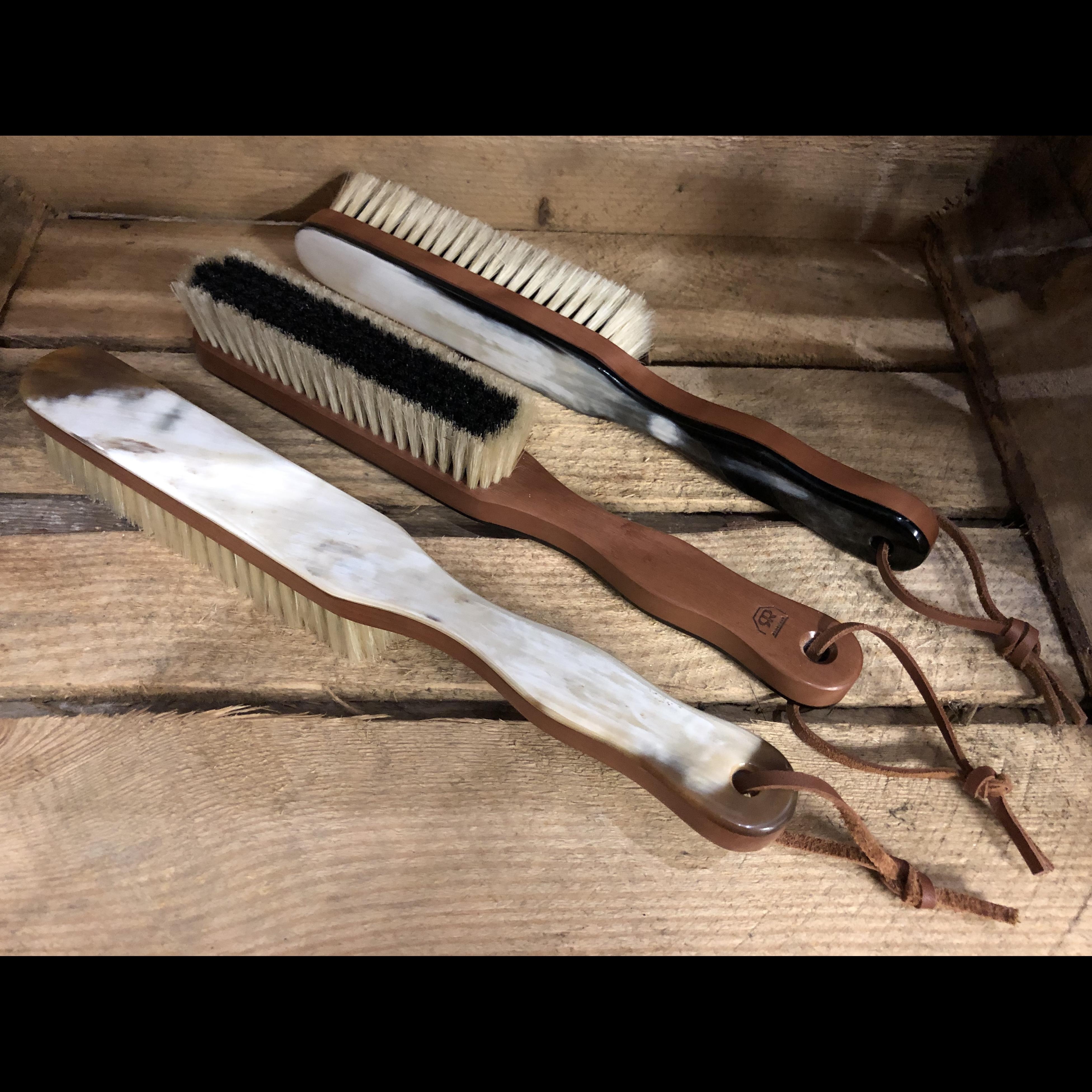 Horn Backed Cashmere Brush