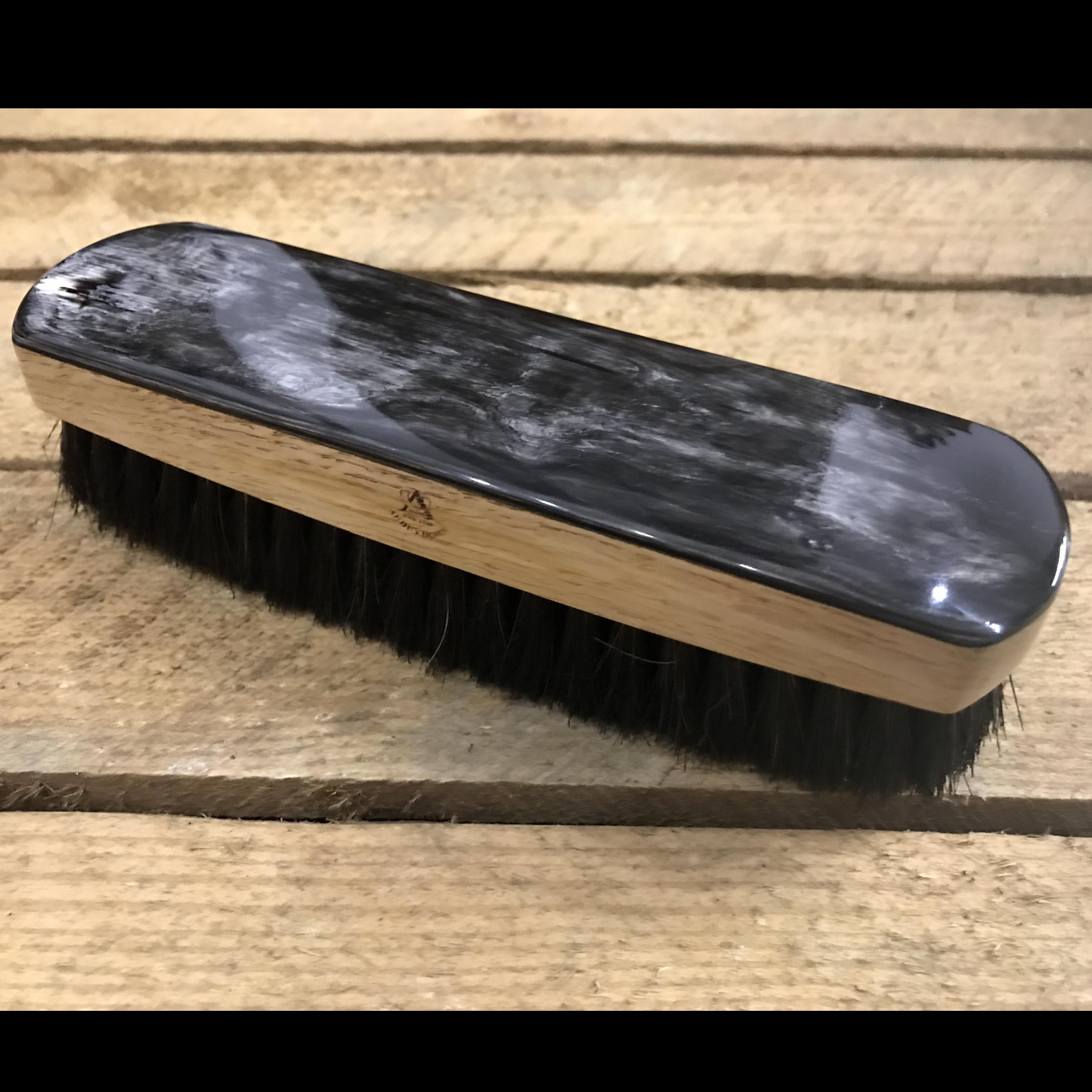 Oxhorn Backed Oak Shoe Brush